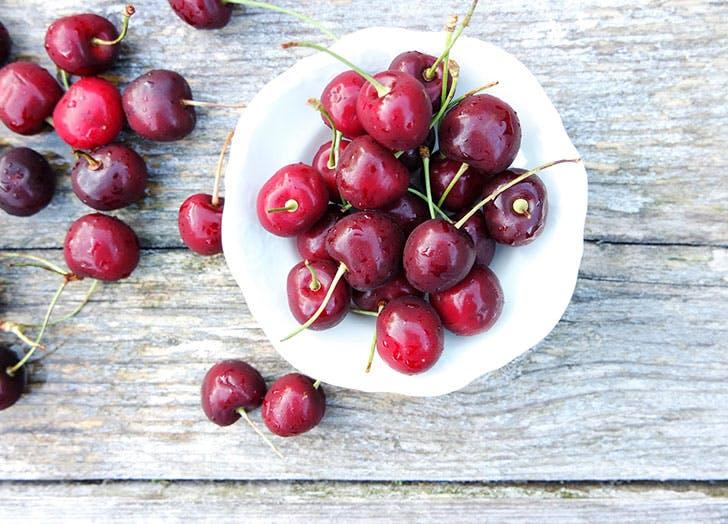 cherries fruit storage