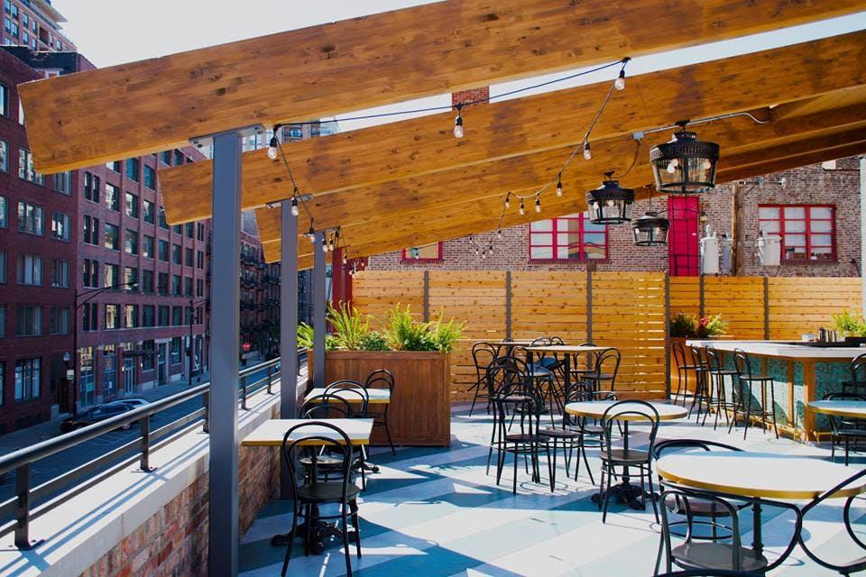 chicago rooftops bernies