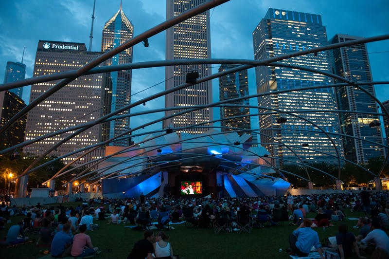 chicago summer events activities millenium park movies 3