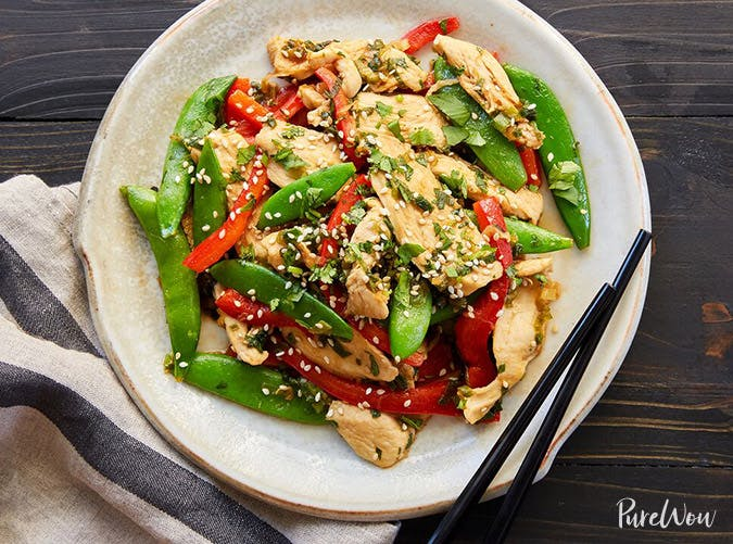 chicken snap pea stir fry 501