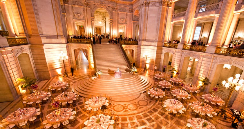 city hall san francisco wedding venues
