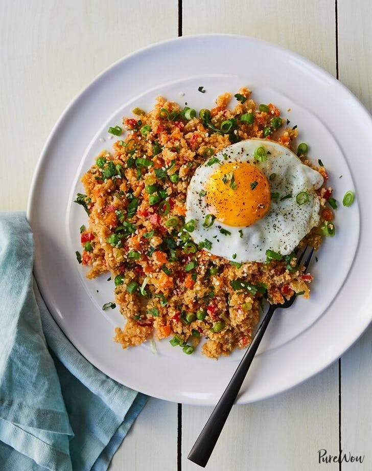 clean dinner cauli rice
