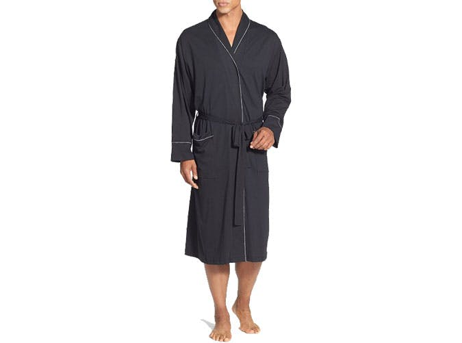 cotton bathrobe fathers day gift guide