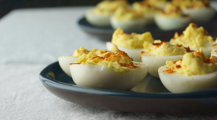 The 10-Minute, Lazy Girls Deviled-ish Egg Recipe