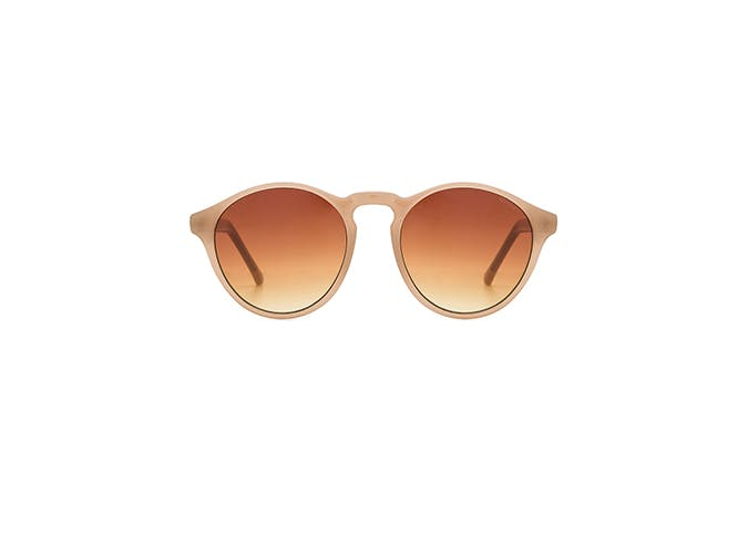 devon rounded sunglasses