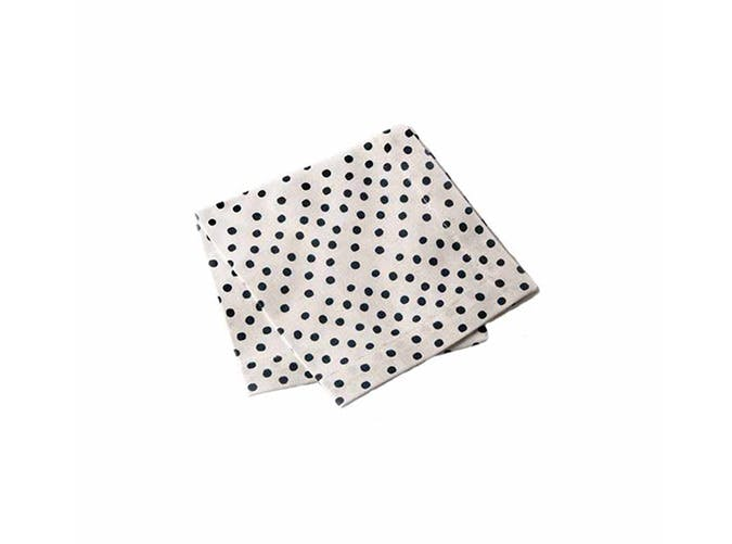 dot cocktail napkin