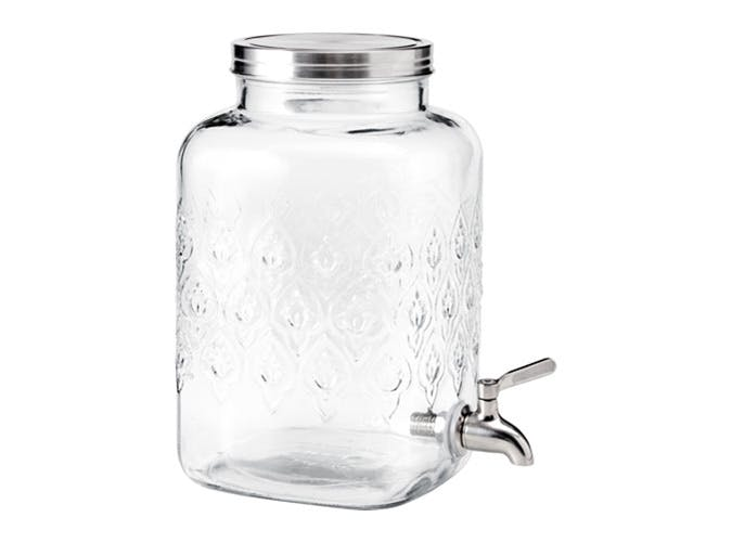 drink dispenser floral