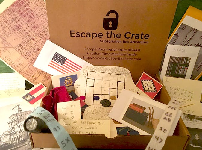 escape the crate subscription boxes