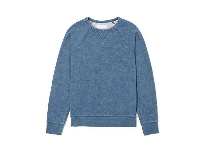 everlane crew neck sweatshirt