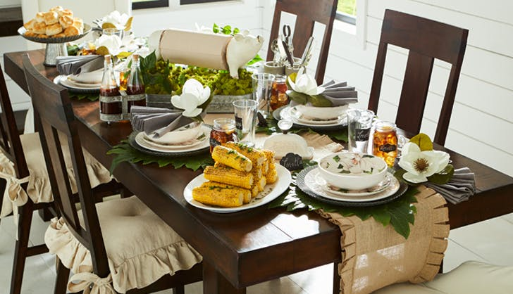 farmhouse tablescape pier 1