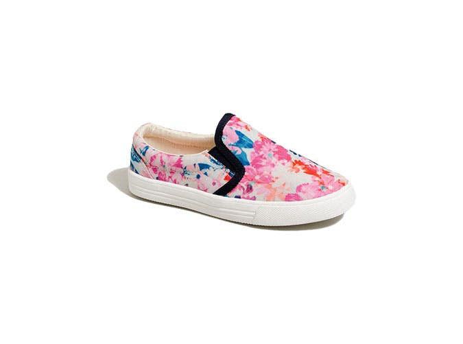 floral sneakers summer trends for kids