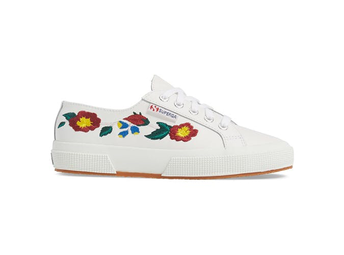floral sneakers use