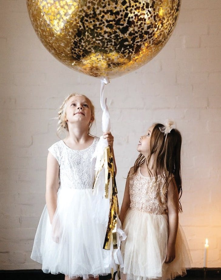 flower girl balloons