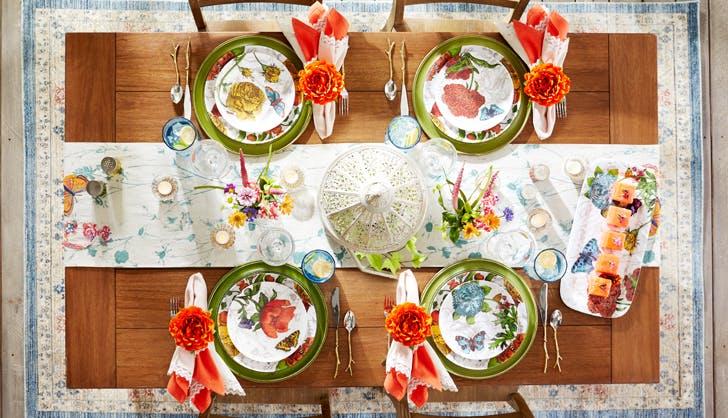garden party tablescape pier 12