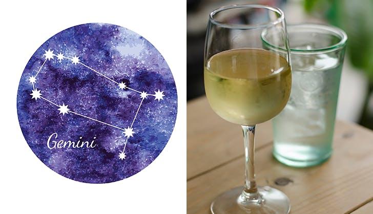 gemini pinot grigio wine