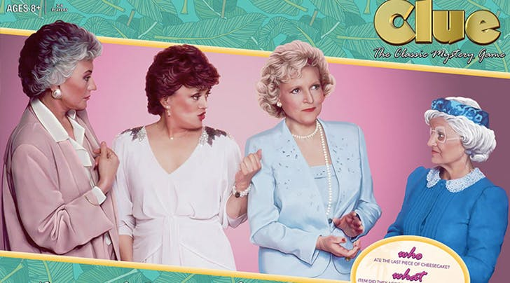 A 'Golden Girls' Themed Clue Game Is Coming Out Because Life Is Good
