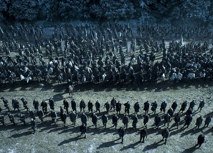 got battle