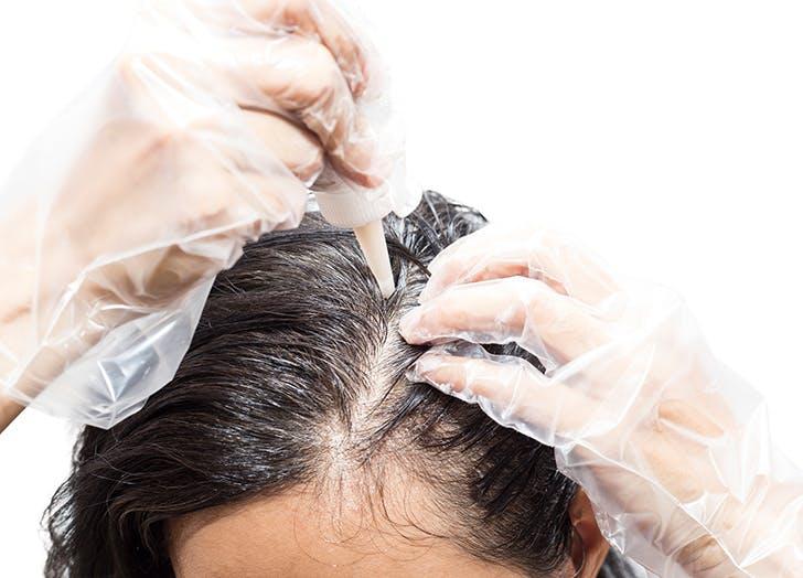 gray hair dye
