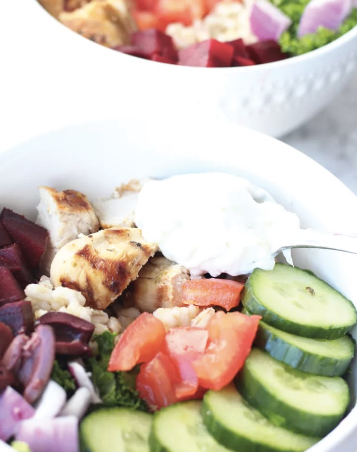 greek food power bowls