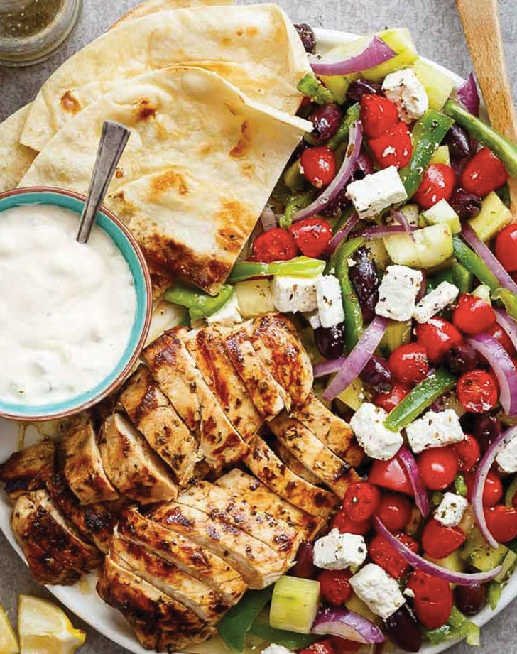greek food salad