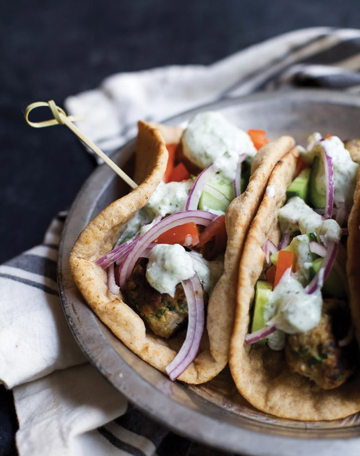 greek food turkey gyro
