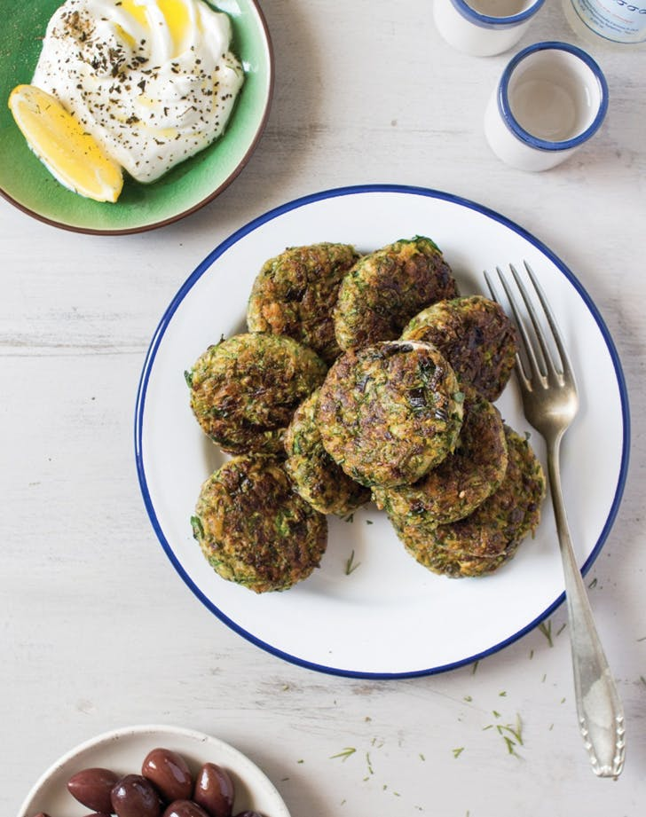 greek food zucchini fritters