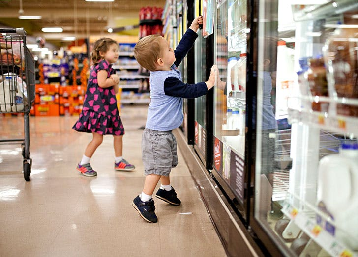 grocery shop credit card points
