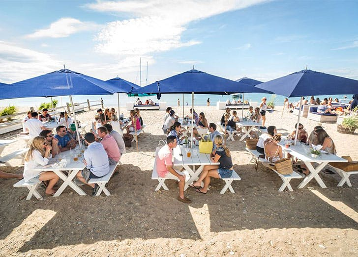 hamptons things to do navy beach LIST