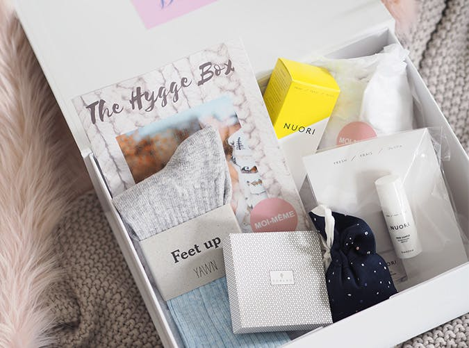 hygge gift box subscription boxes