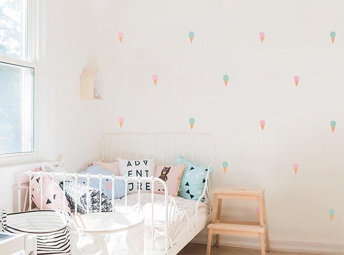 ice cream wallpaper baby nursery trends