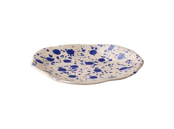 ikea splatterware plate