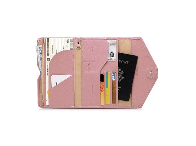 inflight essentials passport wallet