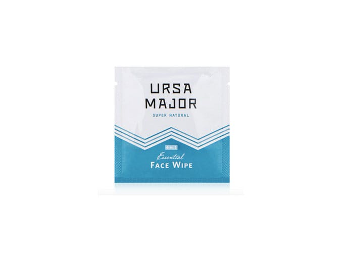 inflight essentials ursa major face wipes
