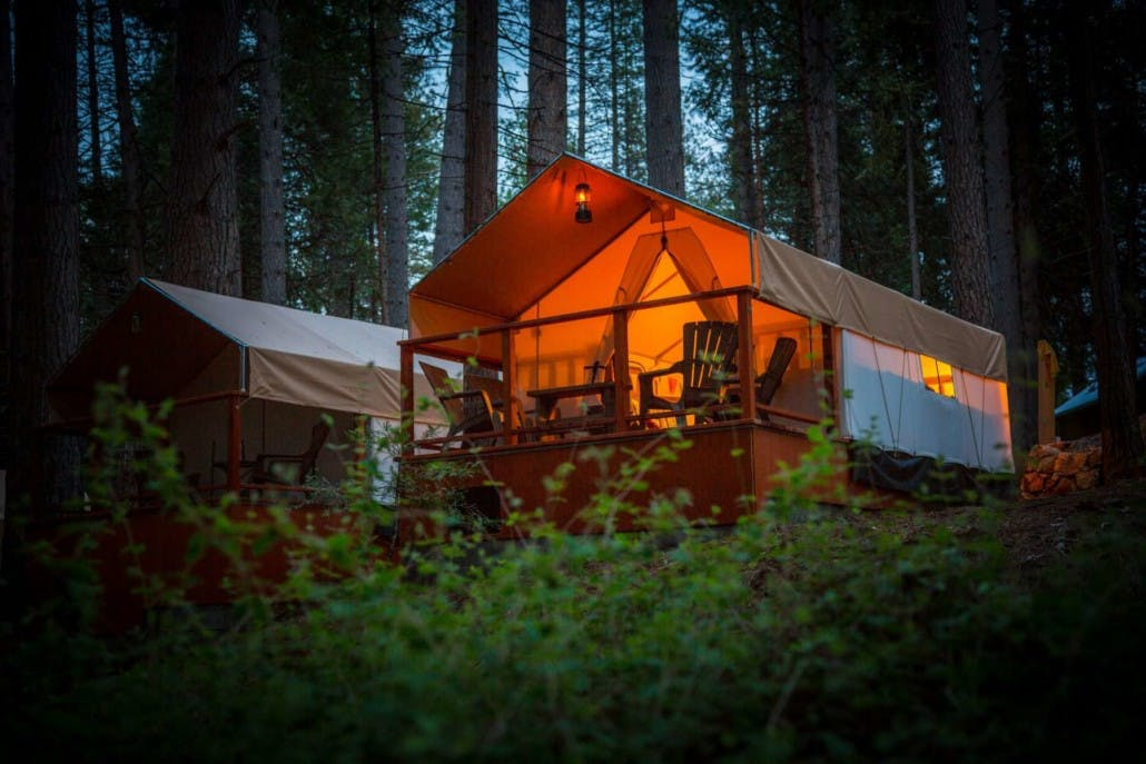 inn town campground los angeles glamping