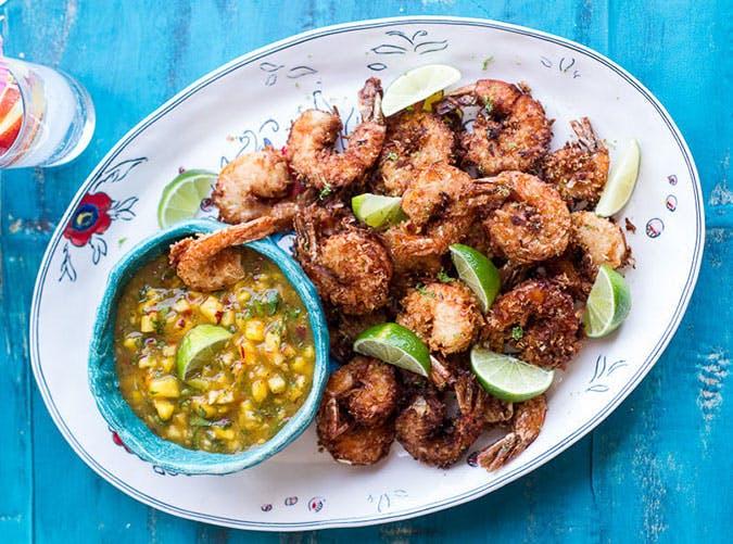 june dinners fried shrimp