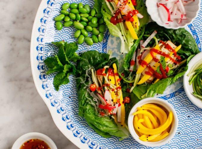 june dinners lettuce wraps