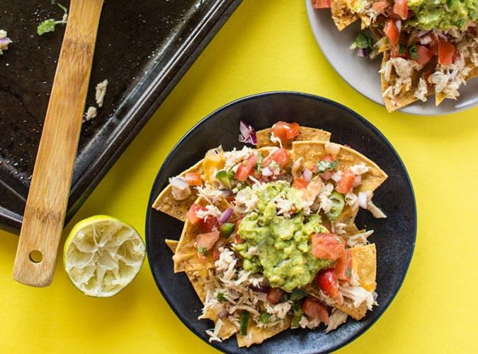 june dinners tuna melt nachos