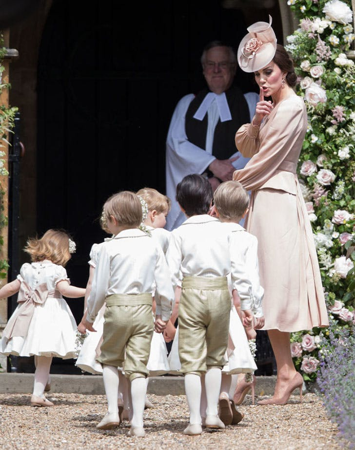 kate middleton children pippa middleton wedding