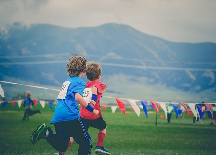 kid swearing soccer