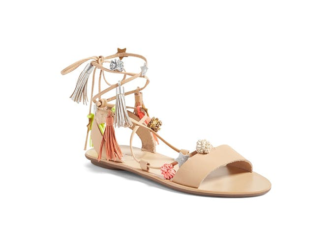 lace up sandals use