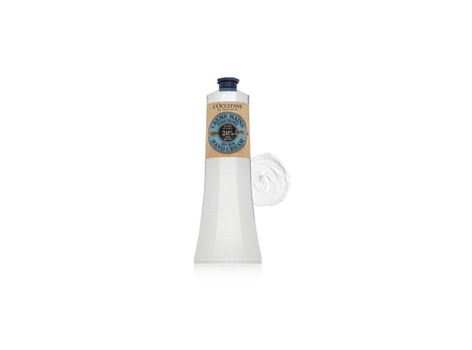 loccitane hand cream inflight essentials