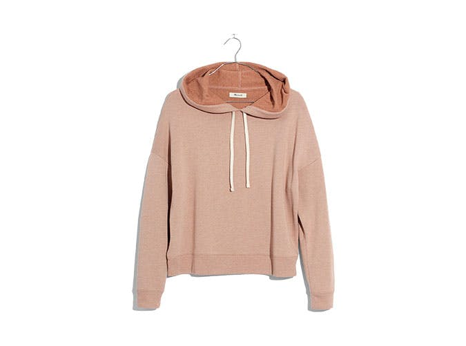 madewell sweatshirt inflight necessities