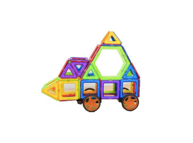 magnetic building blocks kids science toys