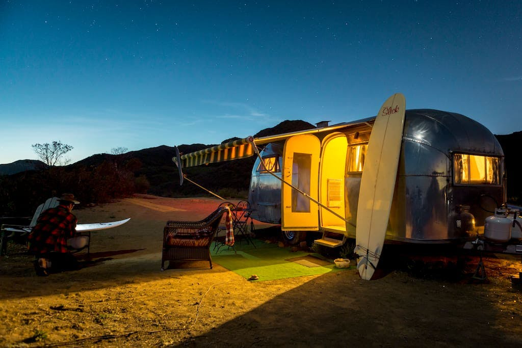 malibu airstream los angeles glamping