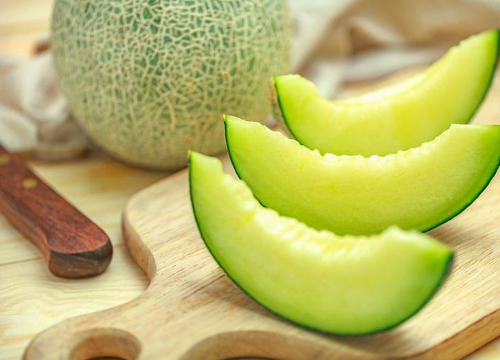 melon fruit storage