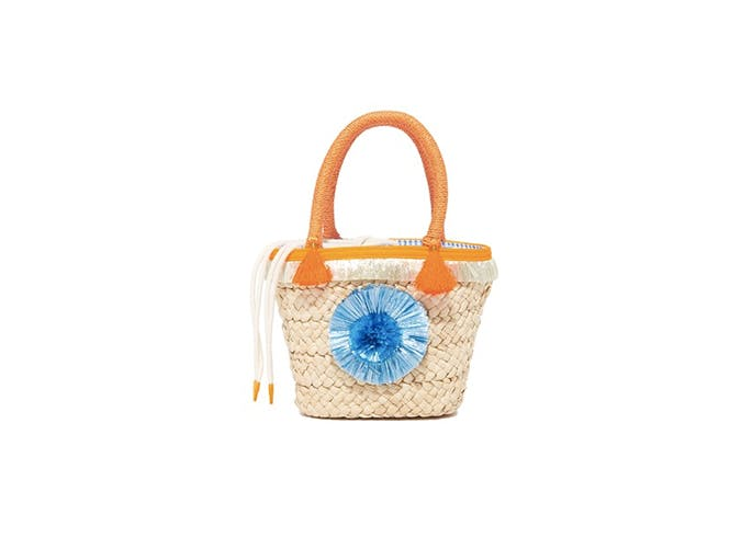 milly mini pom pom tote