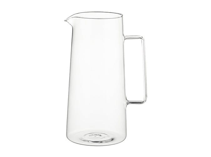 modern glass carafe