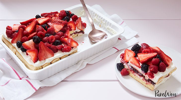No-Bake Berry Tiramisu