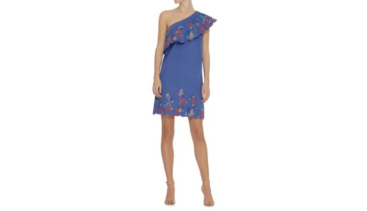 one shouldered dress