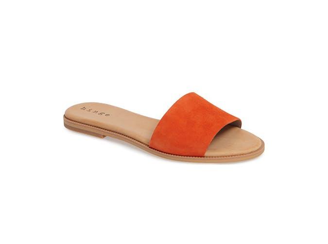 orange simple slides